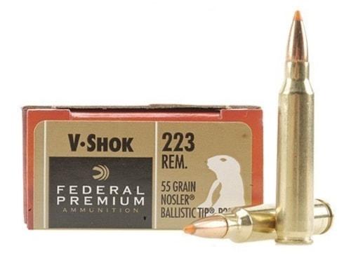 Federal Vshok in Remington .223 Match