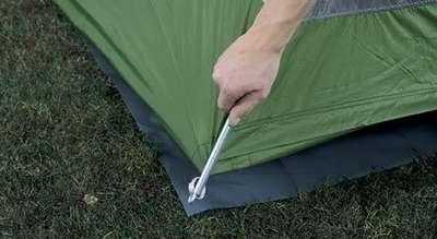 Eureka Down Range tent floor saver