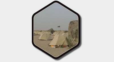 Eureka Down Range military USMC tent