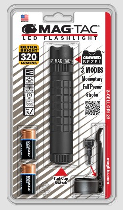 MagTac Crowned Bezel flashlight