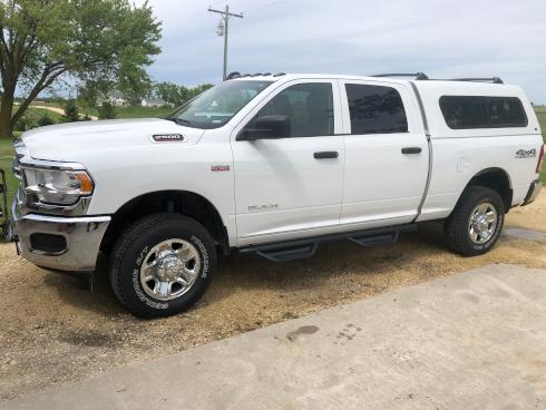 profile of pickup truck
