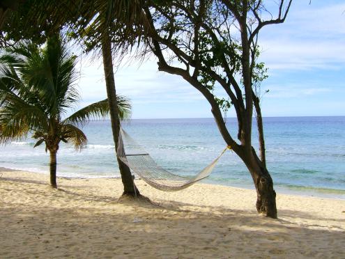 a pretty tropical beach