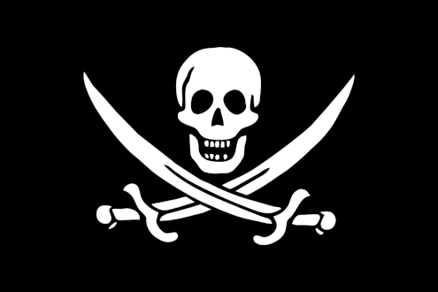 Jolly-Roger-Flag public domain