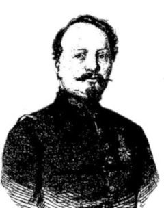 portrait of Claude_Etienne_Minie inventor of the minie ball projectile.