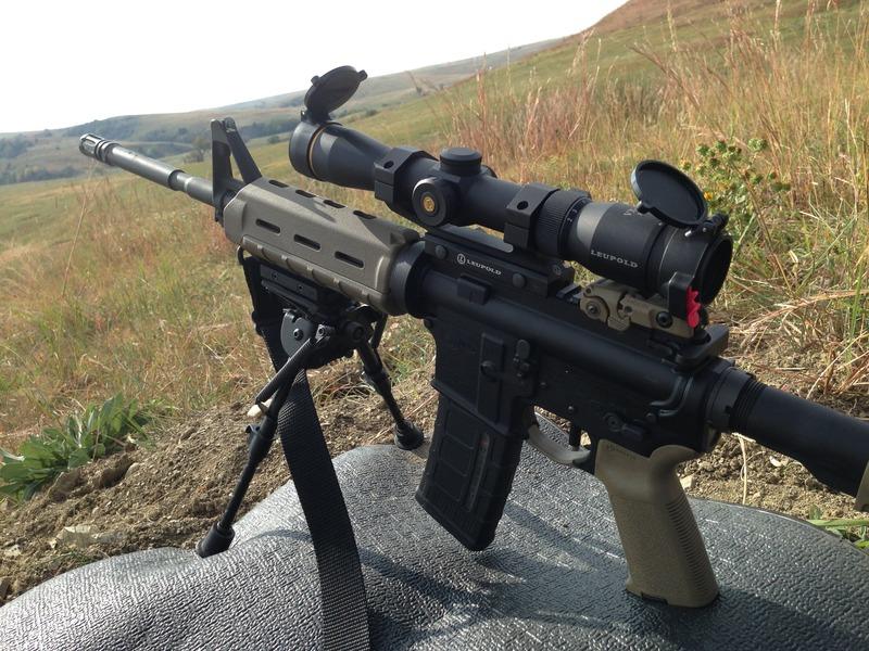 Leupold Firedot scope