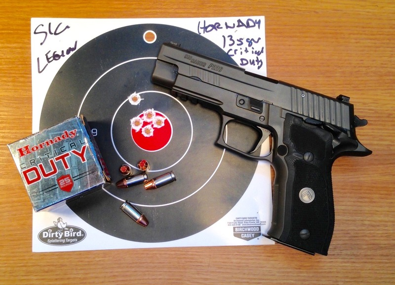 SIG Legion semi-automatic pistol