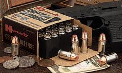 hornady critical defense ammo round