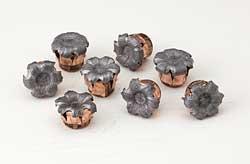 hornady critical defense mushroomed bullets