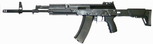 an example of an AK 12 rifle